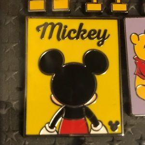 "2019 Disney Hidden Mickey Pin ""Mickey"""